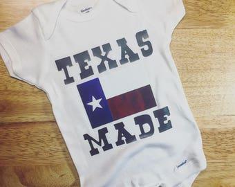 Texas Made Onesie & Toddler Tee