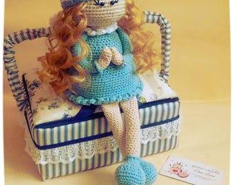 Angel Crochet Doll Amigurumi Tilda
