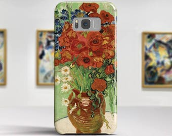 "Vincent van Gogh, ""Still Life with Daisies"". Samsung Galaxy S6 Case LG G5 case Huawei P9 Case Galaxy A5 2017 Case and more. Art phone cases."