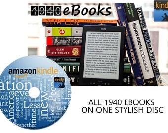 Kindle books x1,940 issues -eBook Novels- MOBI format on Disc