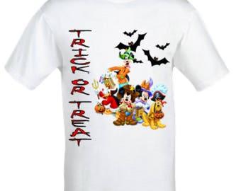 Micky mouse halloween shirt,Boy's halloween shirt,girl's halloween shirt,Mickey mouse boy's shirt,Minnie mouse halloween shirt,Mickey mouse,
