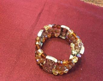 Bracelet beaded crystals