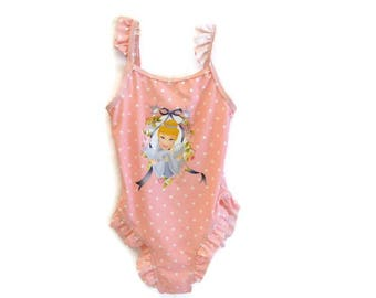 CINDERELLA piece swimsuit 5 years (110 cm) baby