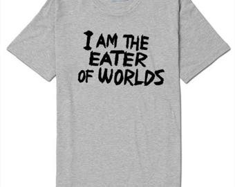 Eater of Worlds It Movie Pennywise T Shirt Clothes Many Sizes Colors Custom Horror Halloween Merch Massacre
