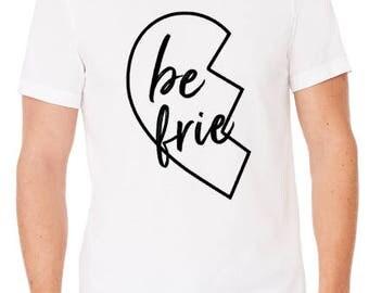 Best Friends T-Shirt / Best Friends Broken Heart T-Shirt / Matching T-Shirts / Valentine's Day Shirts / Bestie Shirts / Graphic T-Shirt /