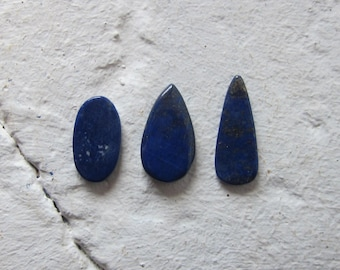 Lapis Lazuli. Lot 3 Pcs. S0440