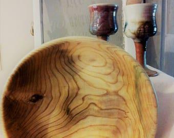 Hackberry Wood Bowl