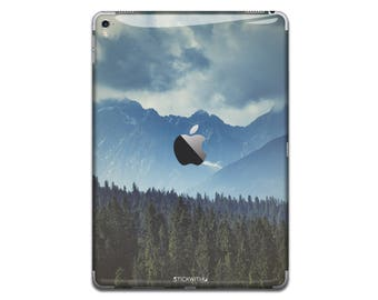 Nature mountain iPad Skin Sticker forest iPad Case lake iPad Decal iPad Cover landscape iPad Sticker iPad Air iPad Pro 9.7 12.9 IPA077
