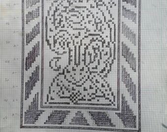 Original filet crochet designs