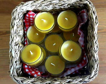 Beeswax tea light/candle