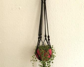 Planthanger black