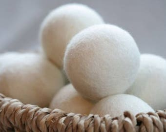 Essential Oil Wool Dryer Balls *Eco Friendly*Non-Toxic*Easy to Use
