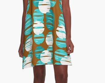 Retro Dress, Womens Gift, Dress, Summer Dress, Party Dress, XL Dress, Retro, Mini Dress, Mod Dress, Casual Dress, Purple Dress