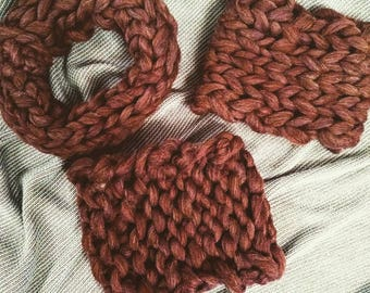 Merino Brown Cowl