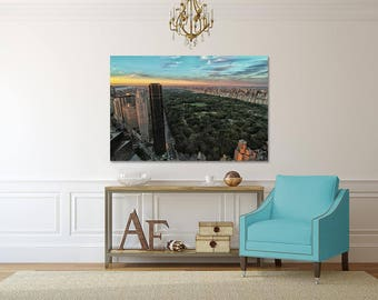 Beautiful Metal Print- New York City Central Park Photograph- Perfect Modern Look for Indoor or Outdoor