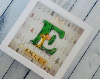 Gruffalo Character Frame I Nursery I Bedroom I Baby gift I The Gruffalo I Christening Gift I Woodland Bedroom Decor I Gruffalo Decor I