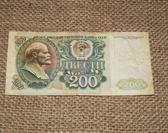 Paper Money USSR banknotes Soviet banknotes Сollectable banknote Vintage banknotes USSR Money Soviet money Russian 100 rubles USSR