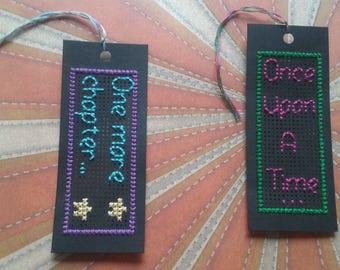 2-Pack Cross Stitch Bookmarks