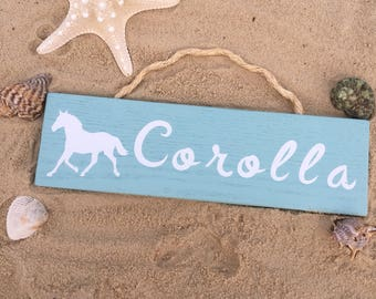 Corolla North Carolina Outer Banks Sign
