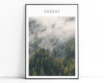 Printable Forest Art, Explore Decor, Nordic Print Design, Modern Large Print, Large Wall Art Ideas, Entryway Decor, Home Decor Printable Art