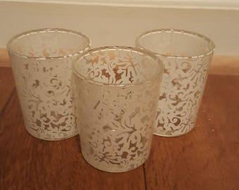 Decorative candle votives