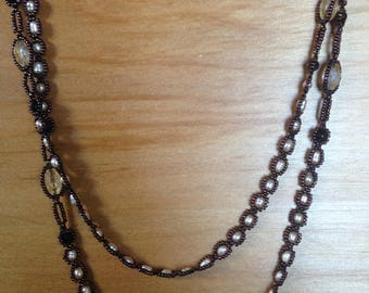 Fine Beaded 'Rope' Necklace