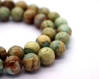 Snake Skin Jasper Africa Round Opal Gemstone Beads (4mm 6mm 7mm 10mm 12mm)