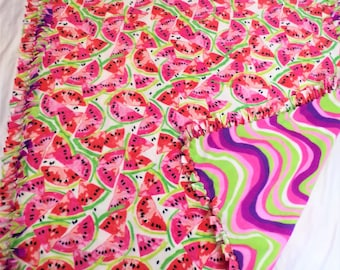 Watermelon Theme Blanket