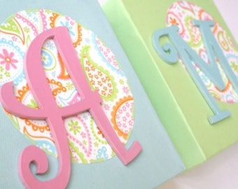 Custom Canvas with Letters