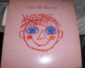 "Barbra Streisand - ""Color Me Barbra"""