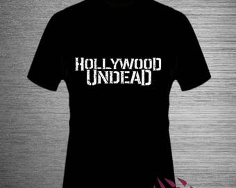 Hollywood Undead Rock Band T shirt Festival Fashion Present T Shirts Quality Cotton Apparel Men Women Top Tee