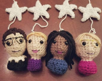 crAFty Characters Baby Mobile: Amazing Women Leaders // the Girl Boss Collection // Feminist Nursery // RBG // Hillary Clinton