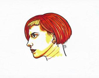 Hayley Williams A4 Print