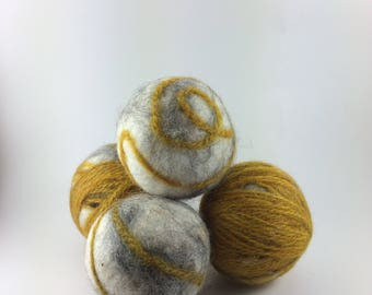 Wool Dryer Balls - Set of 4