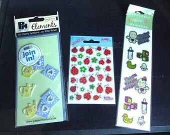 3 sheets stickers stickers
