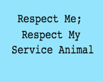 Support Service Animals–Buttons
