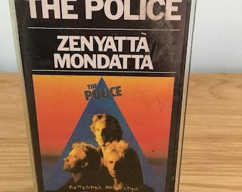 Vintage The Police Zenyatta Monyatta Album Cassette Tape
