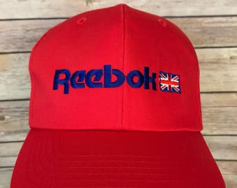 Vintage Reebok Spell Out Logo Hat