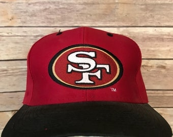 Vintage San Francisco 49ers Embroidered Logo 7 Snapback Hat