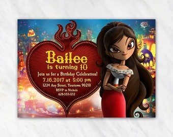 Book of Life Invitation for Birthday Party - Printable Digital File