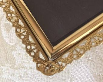 Vintage 5x7 Frame Photo Frame Wedding Table Number Frame Filigree Frame