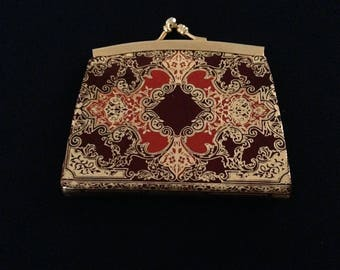 Gold Embossed Italian Coin Purse-FreeUS Shipping