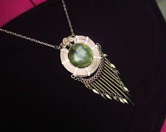 Alambre artisan necklace