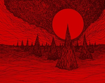 "Lucas Allen Cook ""Blood Ocean Towers"""