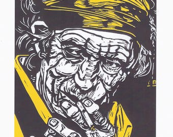 Keith Richards Digital Print