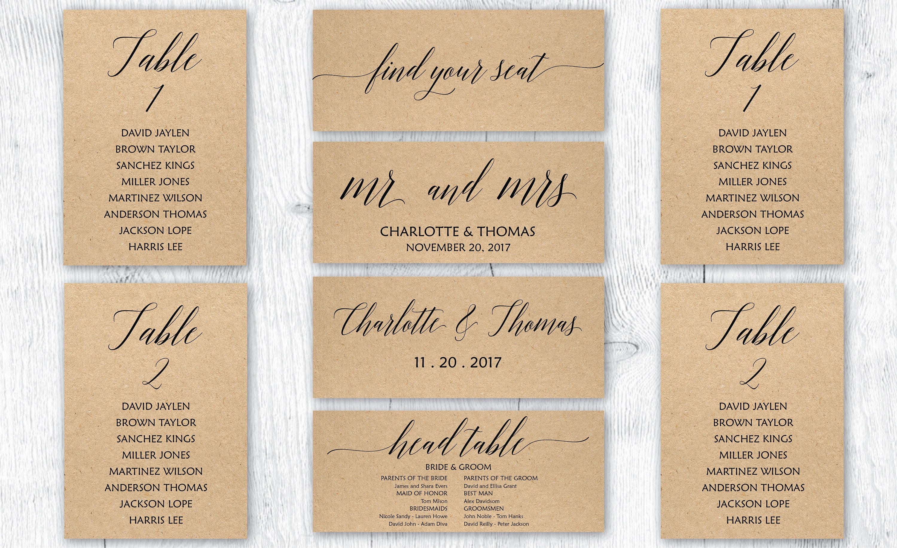 Printable Wedding Seating Wedding Seating Table Wedding Table