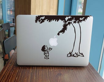 The tree sticker for macbook pro skin macbook sticker macbook air sticker macbook front decal