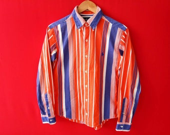 vintage polo ralph lauren button down small size