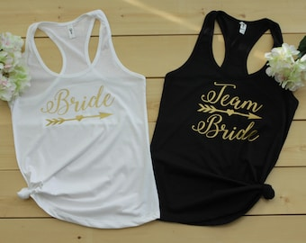 Bride Tank Top, Bridal Tank Top, Bachelorette Tank Top, Team Bride Tank Top, Bride Shirt, Bridal Shirt, Bachelorette Shirt, Team Bride Shirt