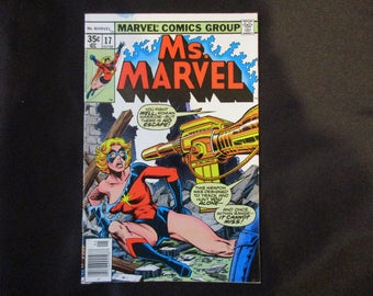 Ms. Marvel #17 (Brief Appearance of Mystique) Marvel Comics 1978